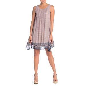 Max Studio Printed Sleeveless Dress Size L